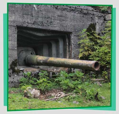 Пушка в ущелье